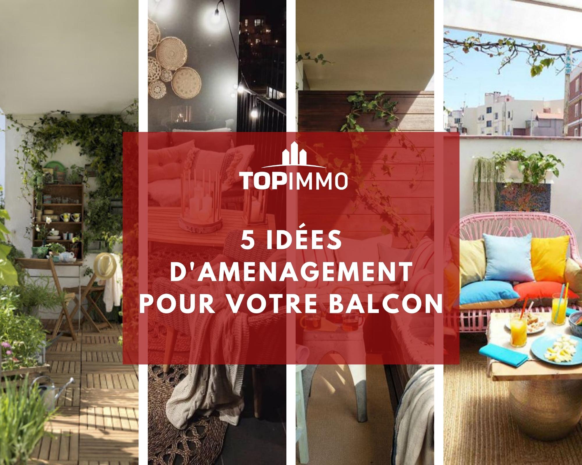 #conseildéco : Aménager un balcon